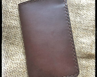 Handcrafted Leather Field Notebook Cover
