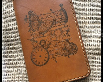 Handcrafted Leather Field Notebook Cover - Made in USA