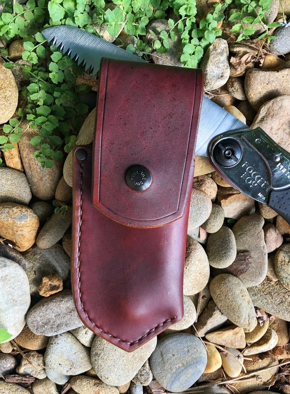 Handcrafted Belt Pouch for Silky Pocketboy Folding Saw