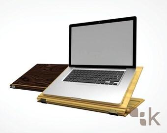 AdAR | High End Adjustable Laptop Riser & Stand - Tech Accessory - Ergonomic Design - Birch, Handmade Locally Designed - by Konisa Studio