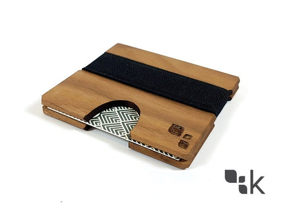 100 Holz Erweiterbare Square Visitenkartenhalter Zubehör Für Business Networking Lokal Handarbeit Cordova M Von Konisa Studio