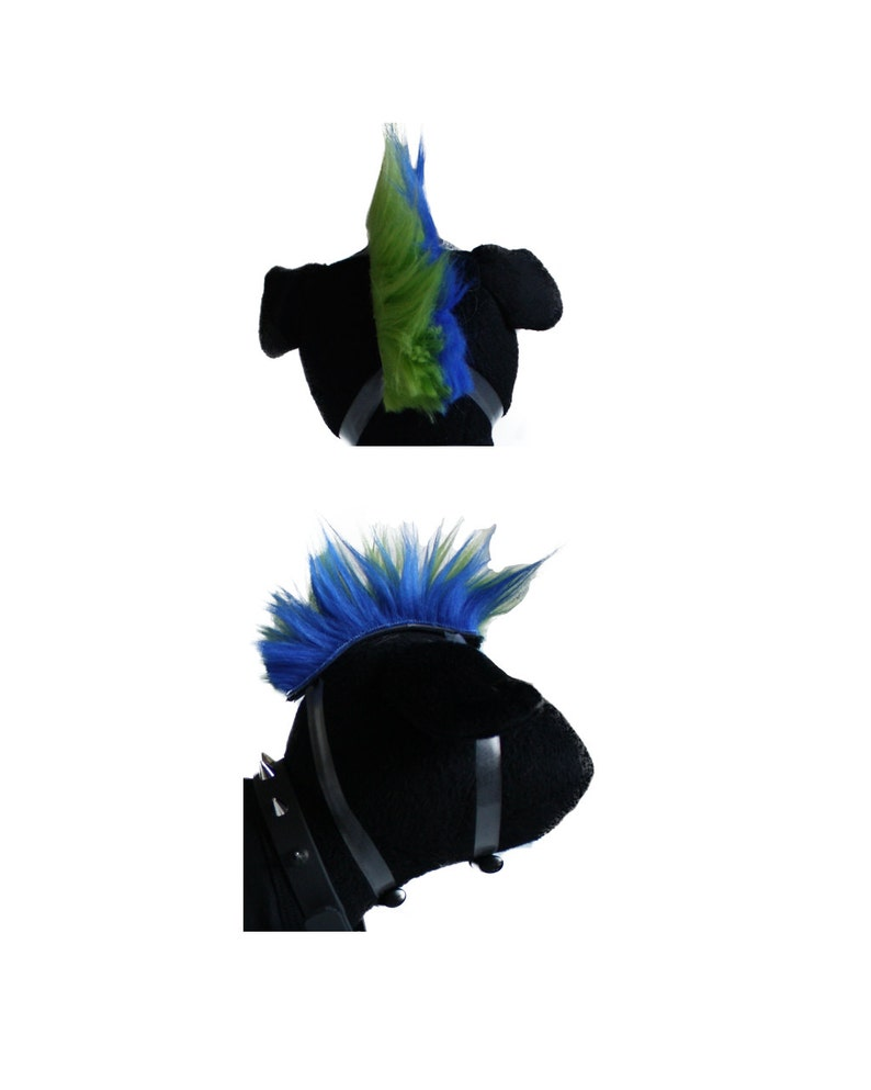Dog Wig Rockstar Mohawk image 0
