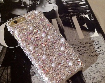 Swarovski Crystal   Pearls Phone Case d5853aa49f