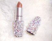 Swarovski Crystals Pearls MAC Lipstick - Clear and AB Crystals and Pearls