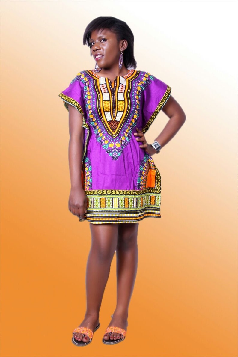 c360089beb41 African Dashiki Dress Summer Dress ll Dashiki Mini Summer