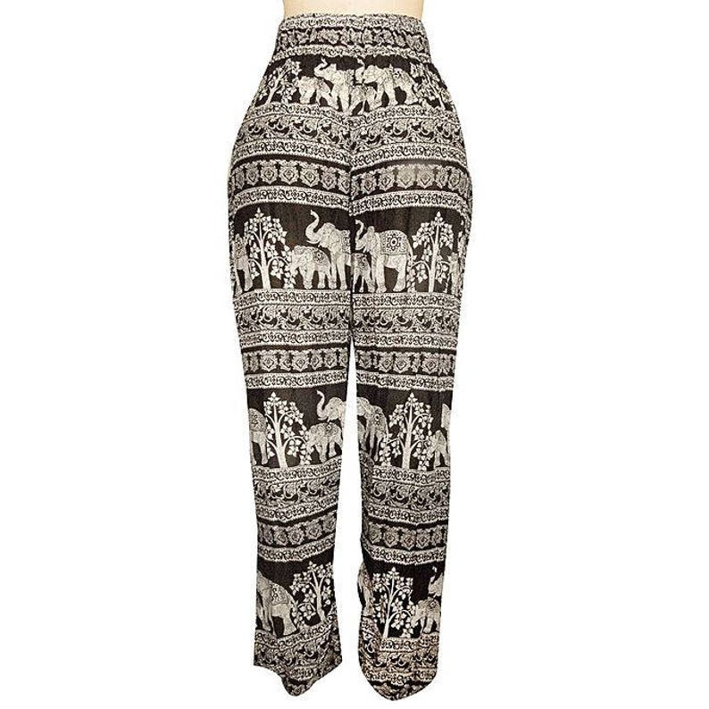c4faa8d64f21b African Boho high waist Summer Pant Yoga and Exercise pant   Etsy