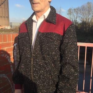 50s Men's Jackets | Greaser Jackets, Leather, Bomber, Gabardine Exclusive to Doghouse Vintage 1950s American style gab jacket $179.39 AT vintagedancer.com