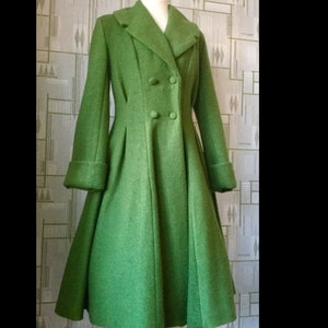 Vintage Coats & Jackets | Retro Coats and Jackets Stunning Vintage style 1950s Fit and Flare coatexclusive to Doghouse Vintage. $322.90 AT vintagedancer.com