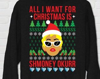 Cardi B Ugly Sweater Etsy