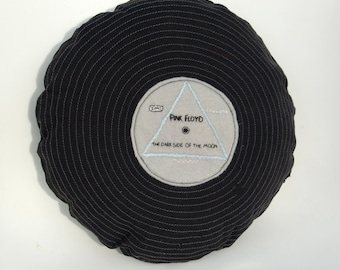 Pink Floyd - Dark Side of the Moon record cushion
