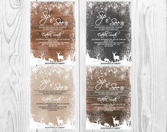 Rustic Winter Sip And See Invitation Choose Your Background Baby Shower Holiday You Print