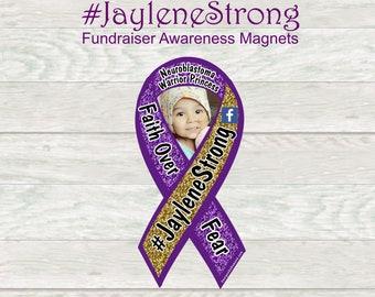 Jaylene Arreola Ortiz awareness magnets
