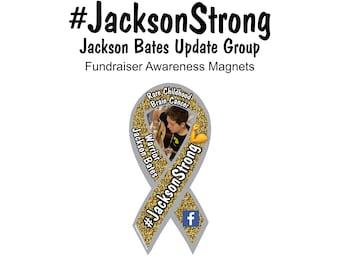 Jackson Bates awareness magnets