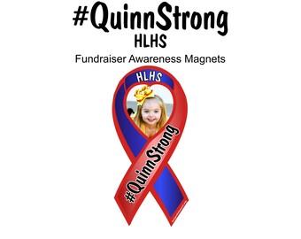 QuinnStrong HLHS awareness magnets - fundraiser