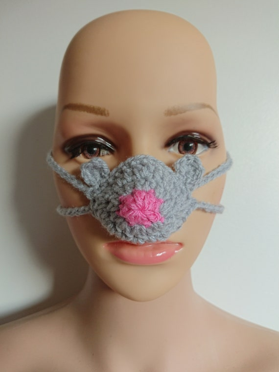 party gadget crochet yellow nose warmer christmas gift nose cover,gift nosewarmer nose snood mitten soft nose heather READY TO SHIP