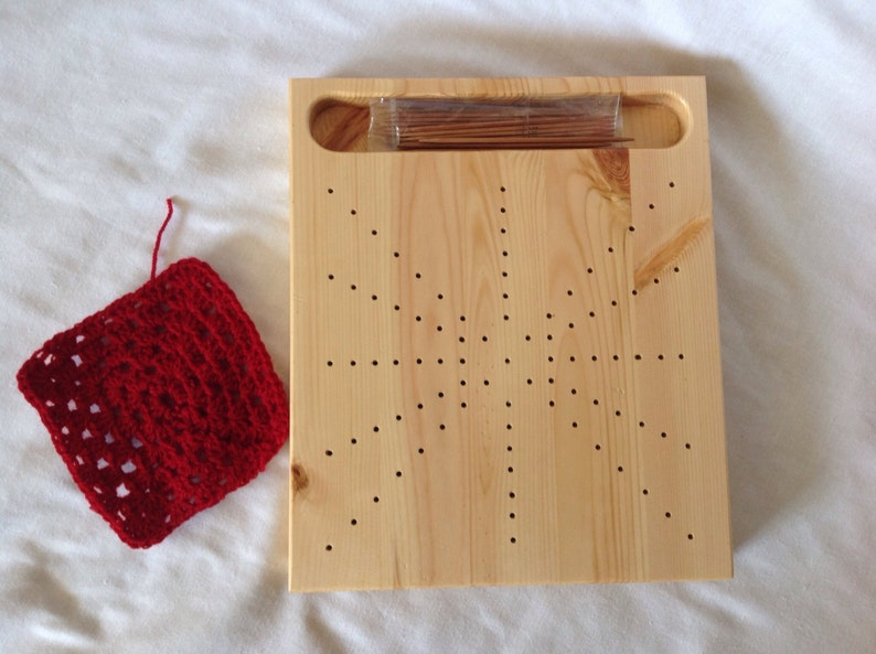 Handmade Pine Crochet Blocking Board Etsy