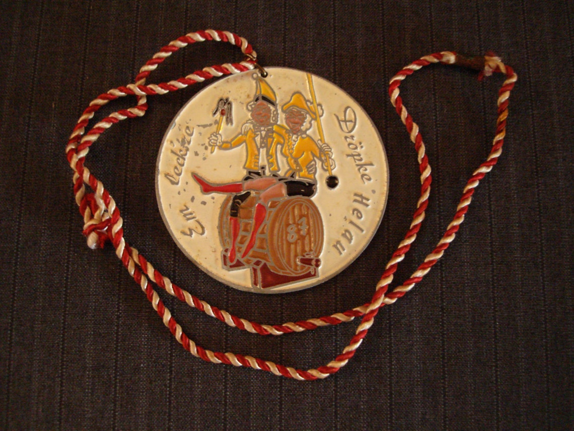 German Carnival Medal,