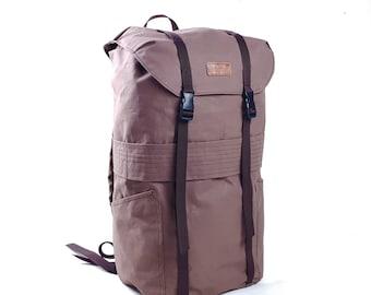 Canvas Backpack 23l, Bushcraft Backpack, Hiking Backpack, Travel Backpack, Vintage style Backpack