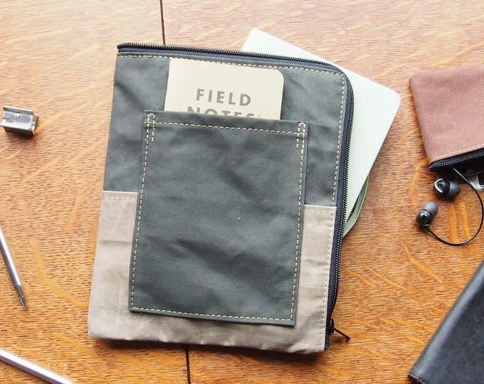 Folio Writing Pad Sleeve for A5 size Moleskine Notebook and pen holder No4