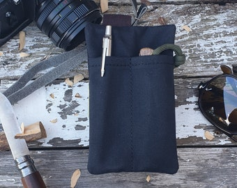 EDC Gear, Edc pocket pouch, EDC Carry, Edc light case, pocket knife pouch, edc wallet, pocket caddy The Companion II