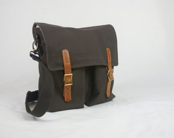 The Enodia, Handmade cross body, heavy duty shoulder bag