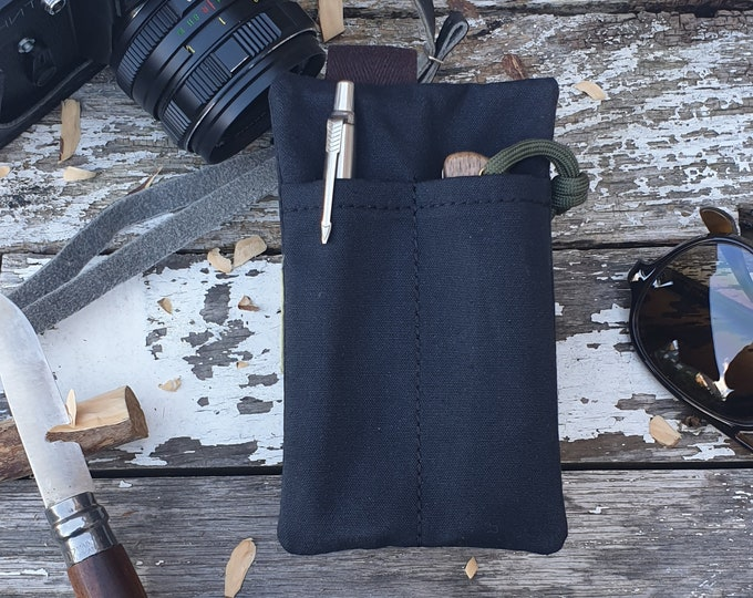 EDC Gear, Edc pocket pouch, EDC Carry, Edc light case, pocket knife pouch, edc wallet, pocket caddy The Companion II