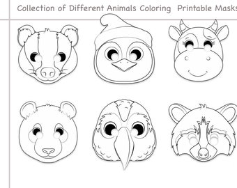 Dog or Puppy Masks | Free Printable Templates & Coloring Pages ... | 270x340