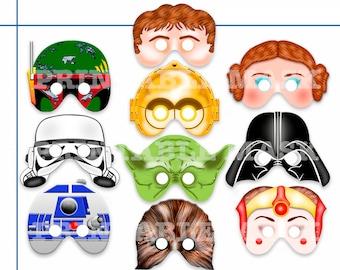 a74e05381f Unique Star Hero Wars Printable Masks
