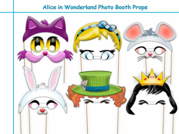 marine life kids birthday idea prop 12 Piece PRINTABLE Mermaid dress up little heroes costume Mermaid Party Photo Booth Props Set