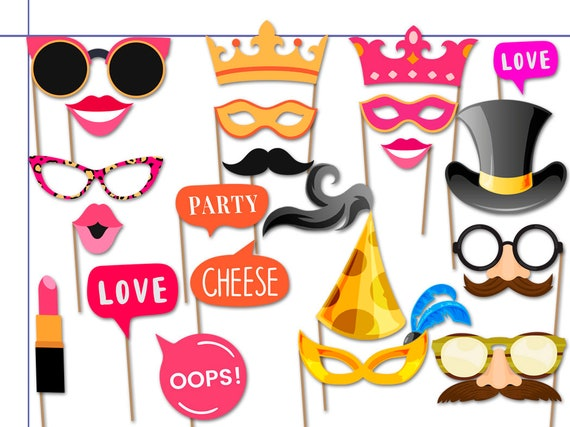 cat kids dress up woodpecker heroes Callie birthday party party favors photo props costume Funny Sheriff Photo Booth Props Set