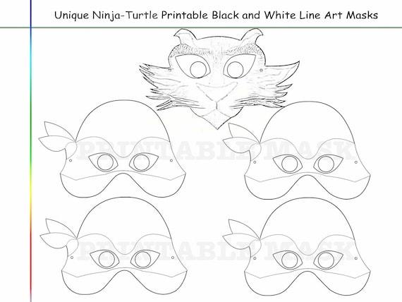 Ninja Turtle Coloring Sheets