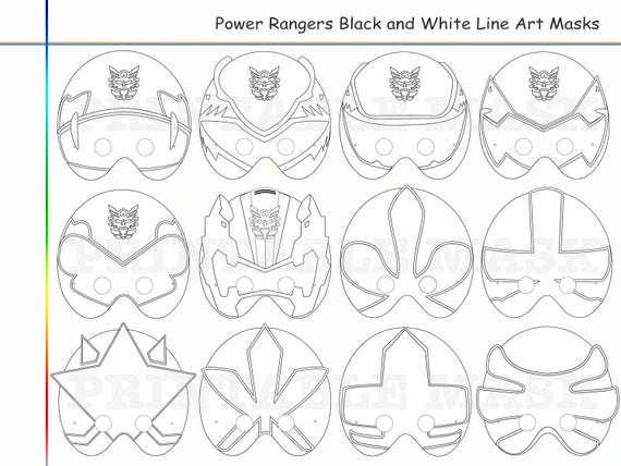 photo relating to Power Ranger Mask Printable referred to as Coloring Web pages Rangers Get together Printable Black and White Line Artwork Mask, child gown, colour mask, Do-it-yourself paper, Samurai heroes, props, mega, stress
