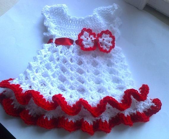 Baby Dress Pattern Crochet Baby Dress Baby Girl Crochet Etsy
