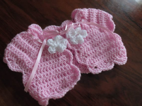Bolero Pattern Crochet Pattern Baby Bolero Baby Shrug Etsy