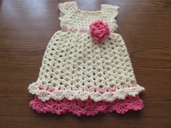Crochet Baby Dress Pattern Crochet Pattern Dress Pattern Etsy