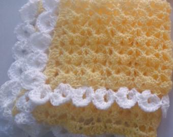 Baby blanket pattern, Instant download - Blanket Crochet PATTERN (pdf file) , crochet afghan , diy Baby Blanket Crochet Pattern Tutorial
