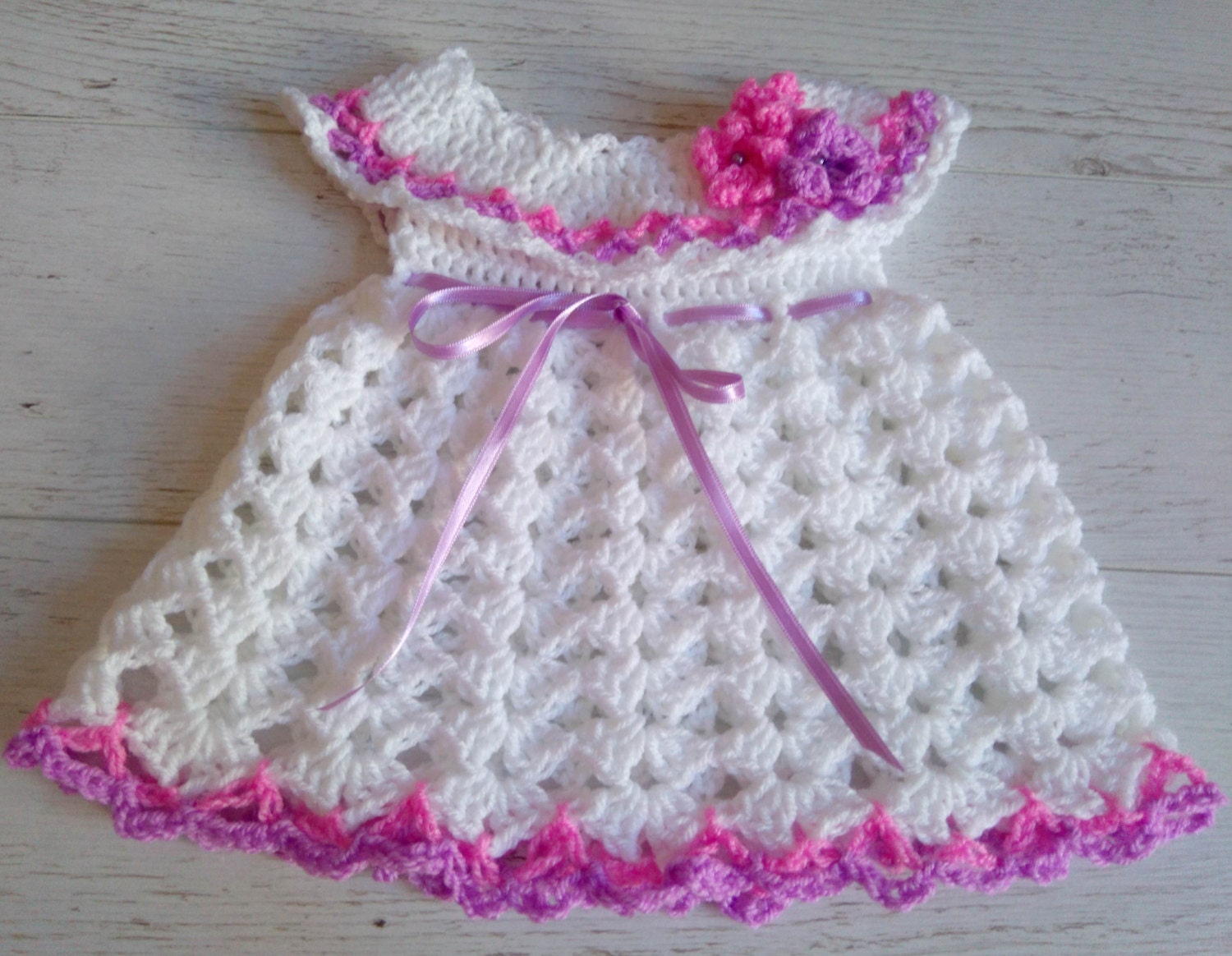 Crochet Pattern Dress Pattern Baby Dress Crochet Pattern Etsy