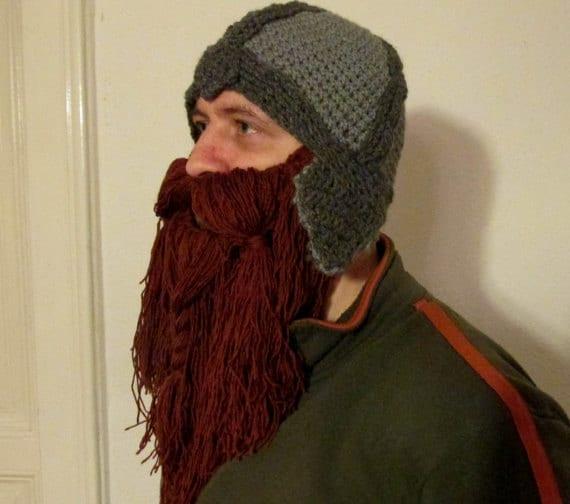 beard hat pattern viking hat lord of the ring hat hobbit  0388b55ad33