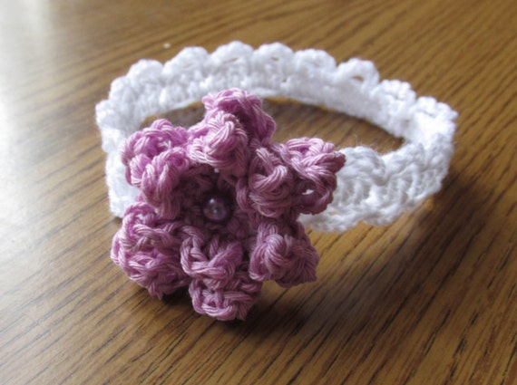 Crochet Headbands Summer Headband Bow Pattern Hairband Etsy