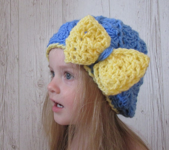 Blue Kids Hat Pattern Crochet Pattern For Hats Crochet Hats Etsy