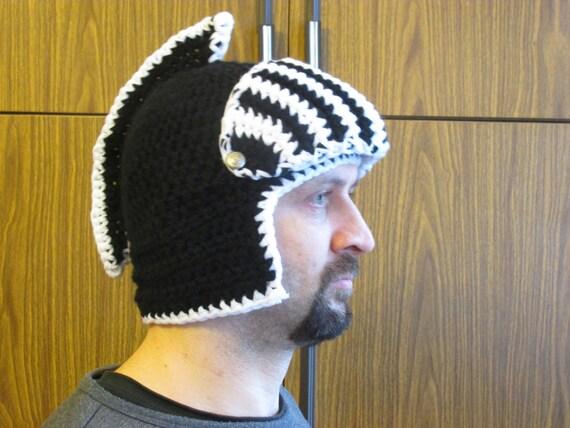 Crochet Helmet Helmet Pattern Fantasy Hat Pattern Knight Etsy