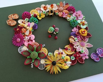 Paper Quilling Etsy
