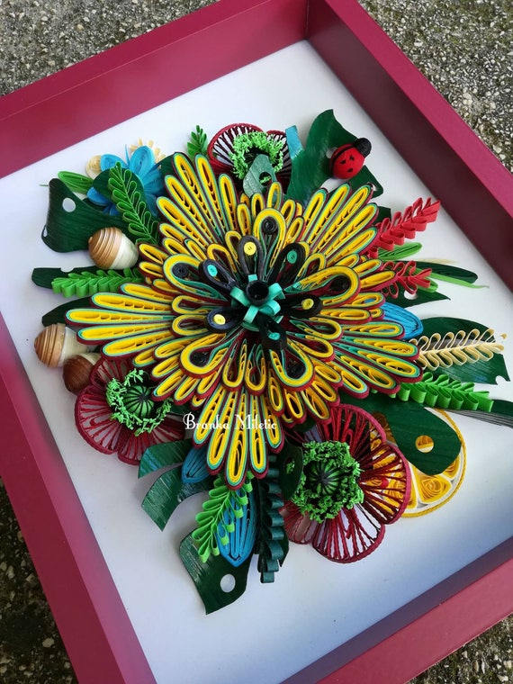 Paper Quilling Flower Decorations Falco Ifreezer Co