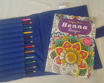 coloring book holder etsy