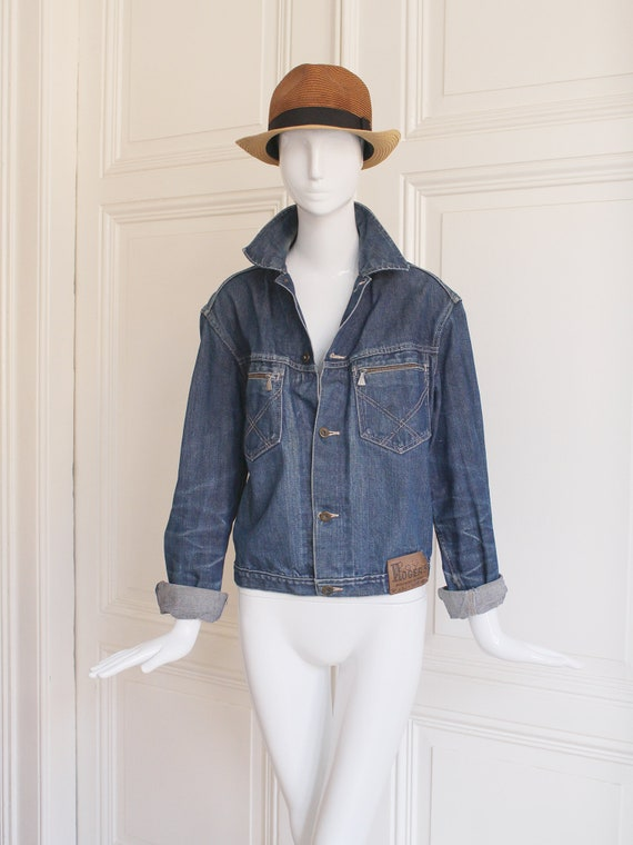Original Roy Rogers denim jacket, vintage denim ja