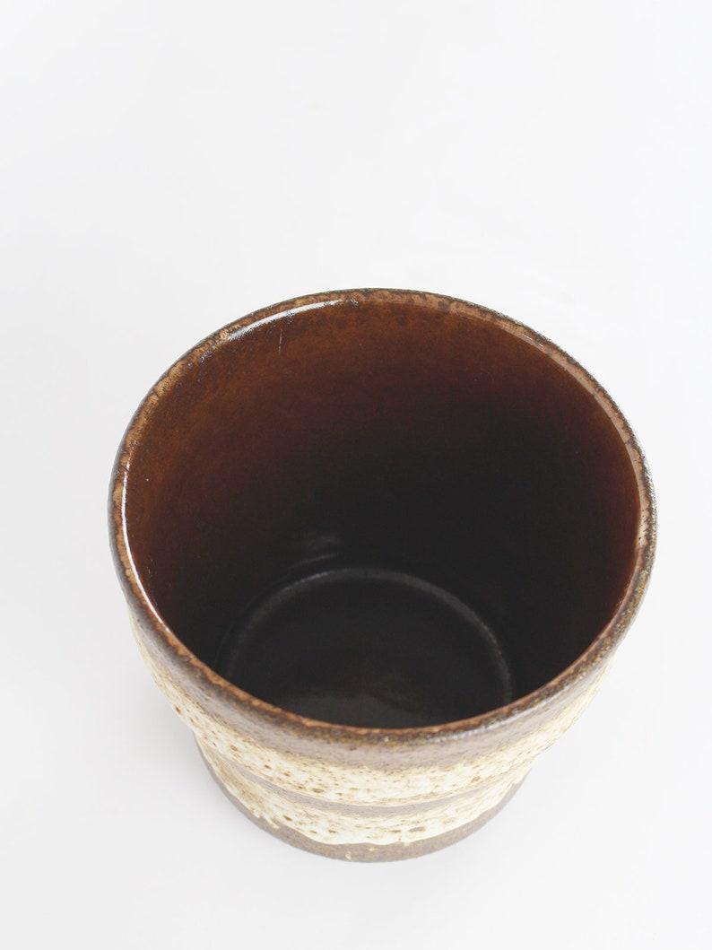 60s-70s ceramic pot WGP plant pot Fat lava mid century pot flower pot vintage flower pot