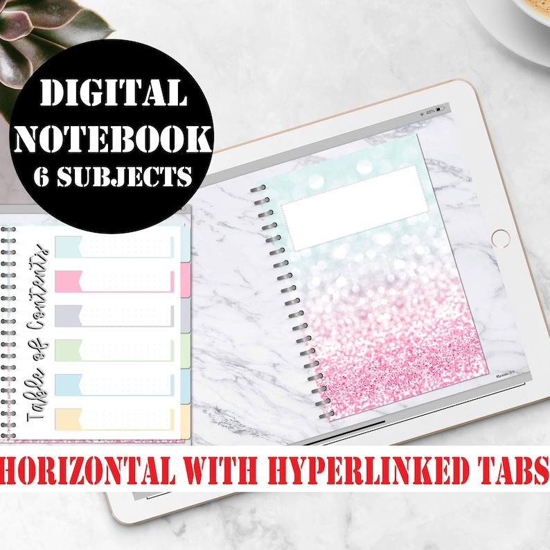 Digital Notebook Goodnotes Digital Journal Goodnotes image 0