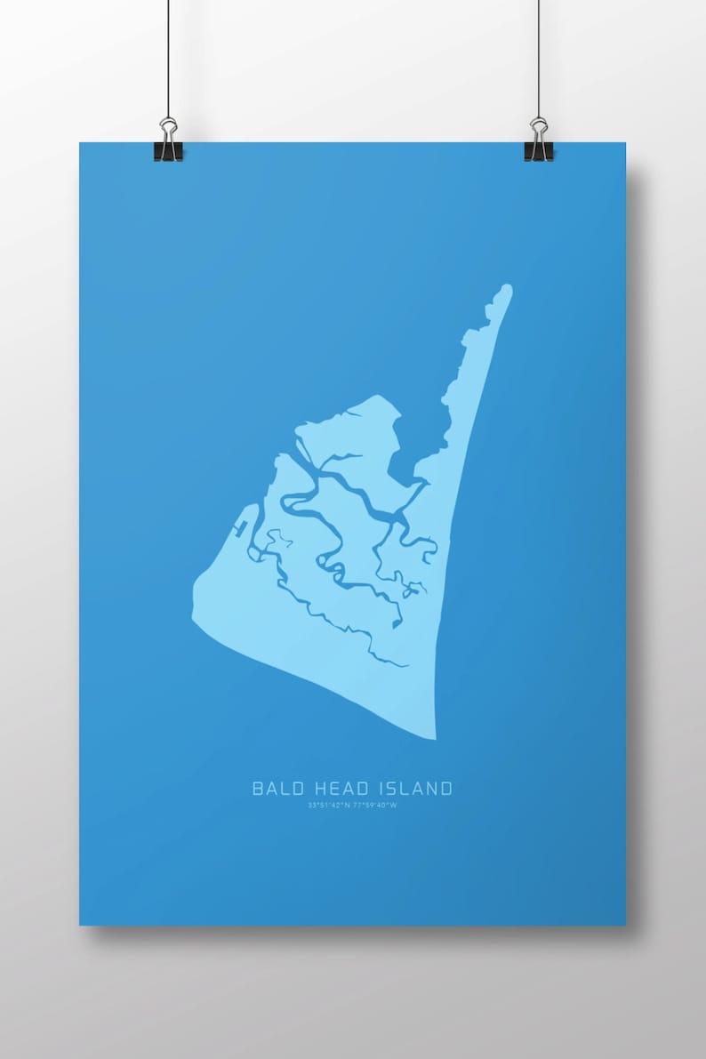 Bald Head Island 14 x 20 Print