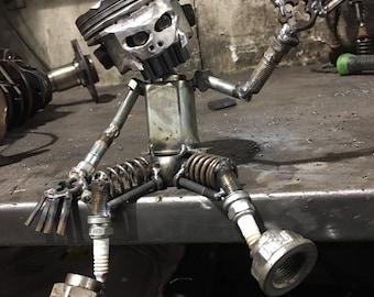 Piston Metal Art Etsy