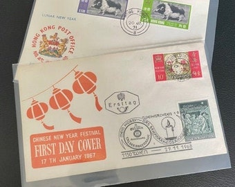 HONG KONG First Day Covers